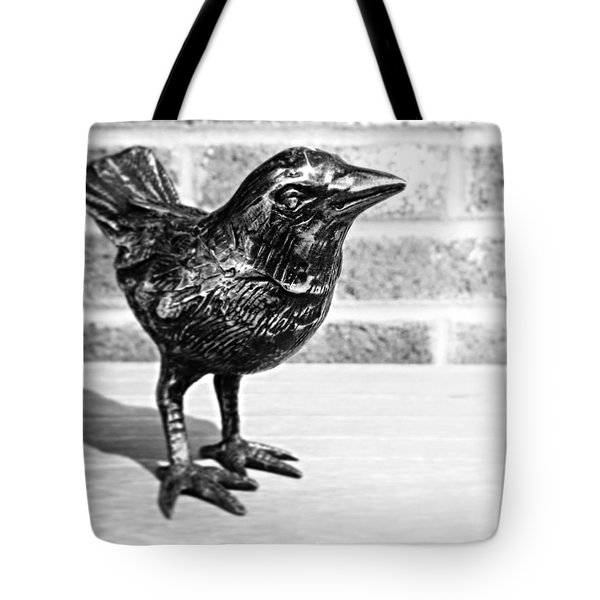 A Little Bird Tote Bag by Joseph Skompski