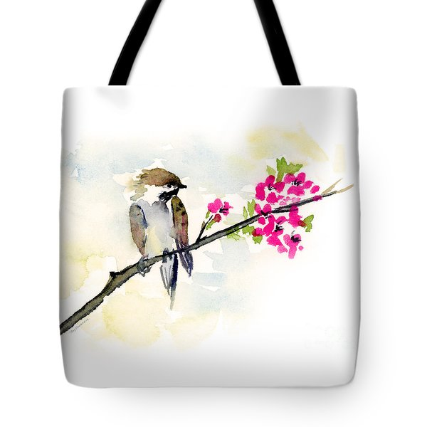 A Little Bother Tote Bag by Amy Kirkpatrick