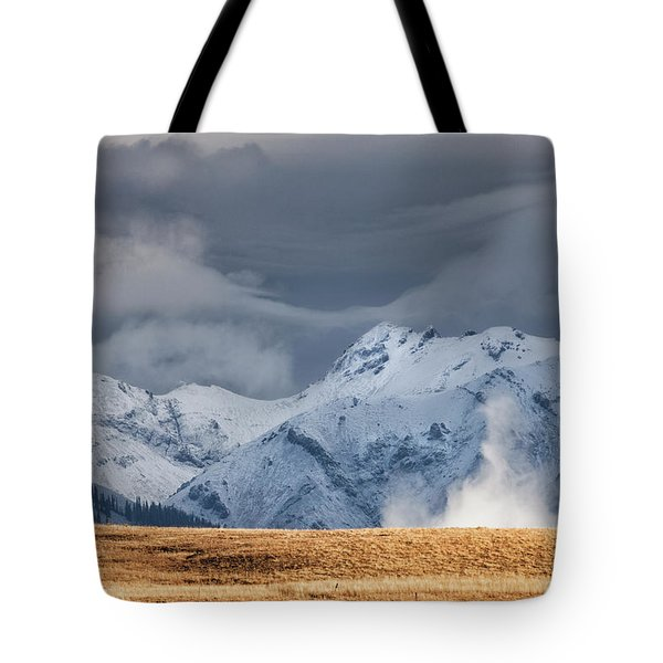 A Little Gust Tote Bag