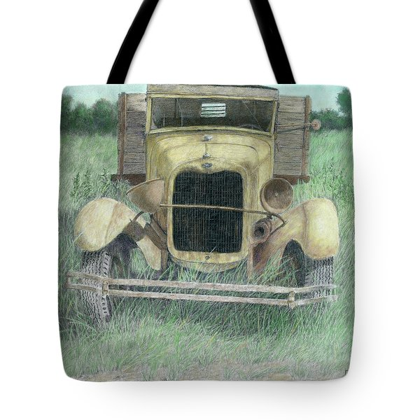 A Little Loopy Colorized Tote Bag