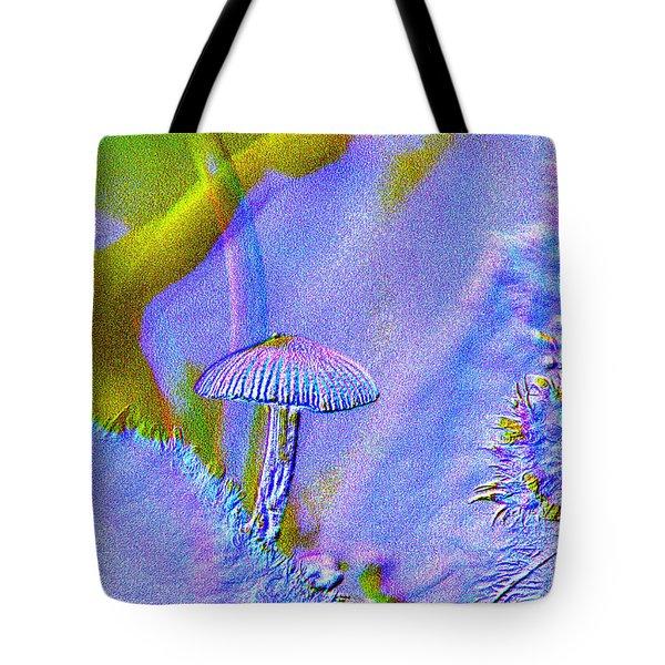 A Little Mushroom  Tote Bag by Jeff Swan