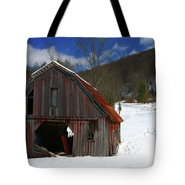 A Little Rust Tote Bag by Dale R Carlson