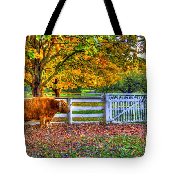 A Little Shaker Bull Tote Bag