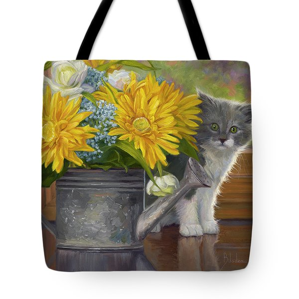 A Little Shy Tote Bag