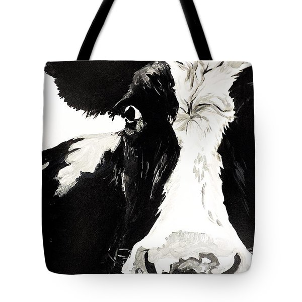 A Little Shy Tote Bag by Tom Riggs