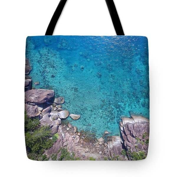 A Little Square Of Paradise  Tote Bag