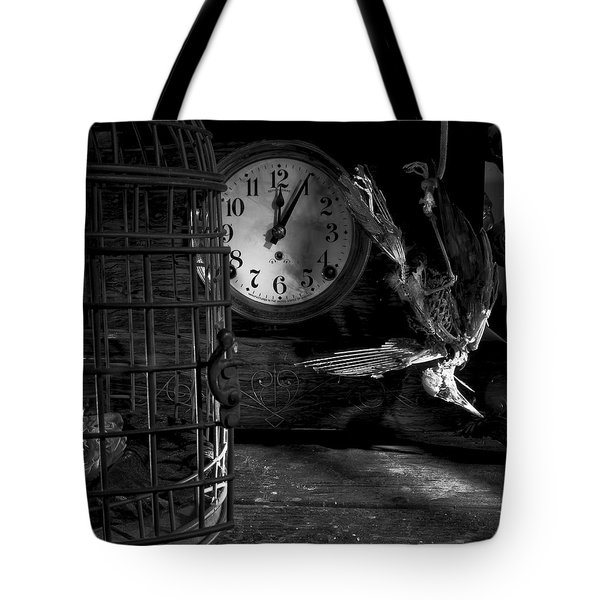 A Little Too Late Tote Bag