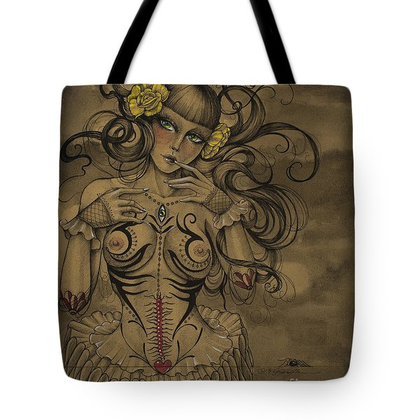 A Little Tribal Tote Bag