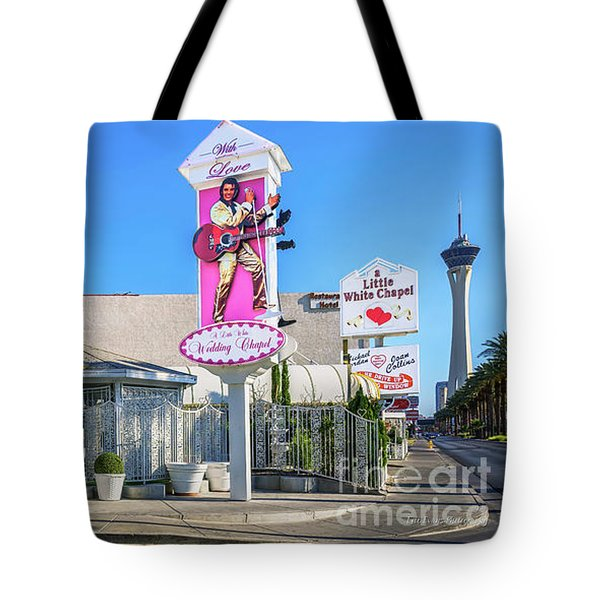 A Little White Chapel From The North 2 To 1 Ratio Tote Bag by Aloha Art