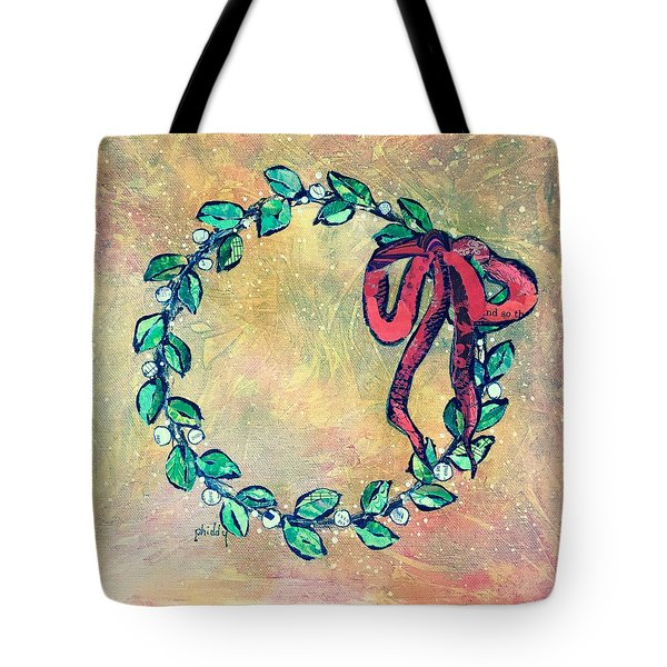 A Little Wreath Tote Bag