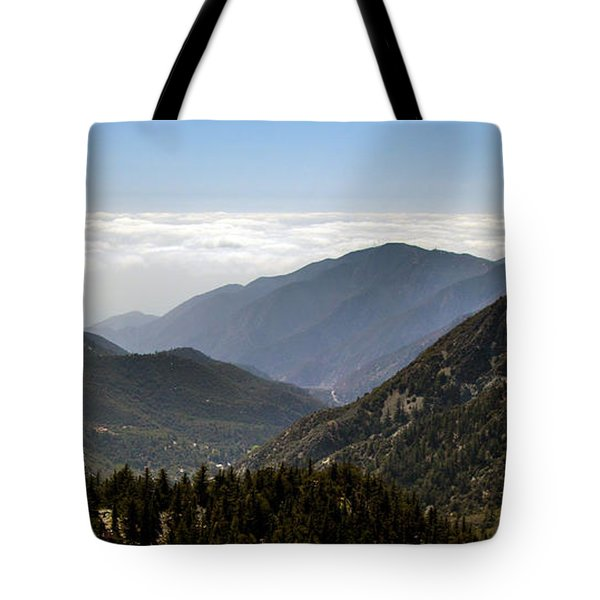A Lofty View Tote Bag by Ed Clark