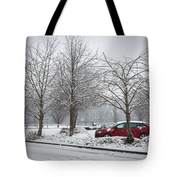 A Lonely Commute Tote Bag