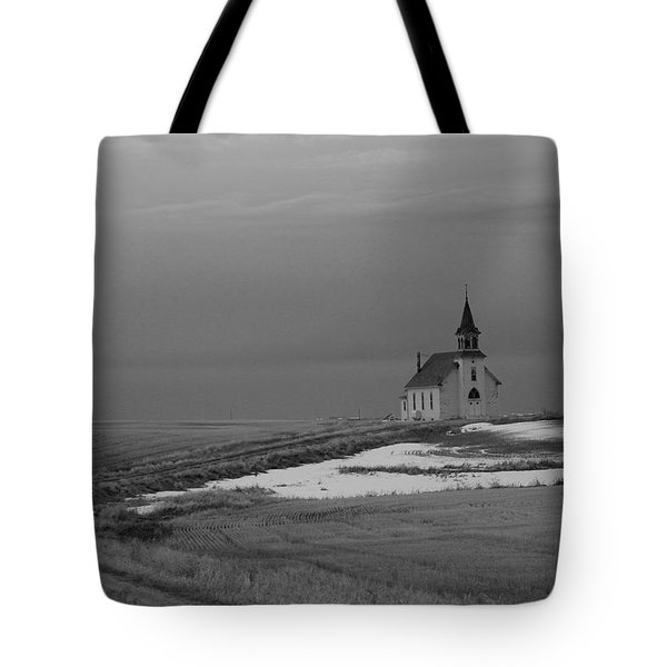 A Long Cold Road To Salvation Tote Bag