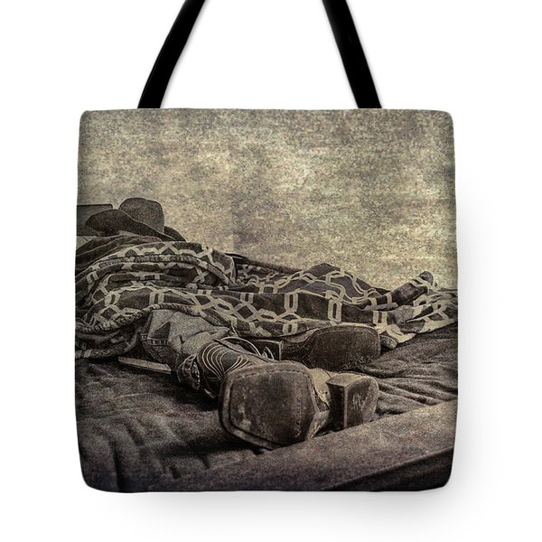 Tote Bag featuring the photograph A Long Day On The Trail by Annette Hugen