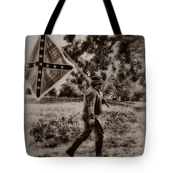 A Long Walk Home Tote Bag by Bill Cannon
