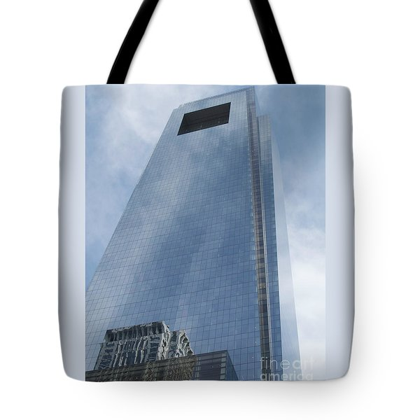 A Long Way Up Tote Bag