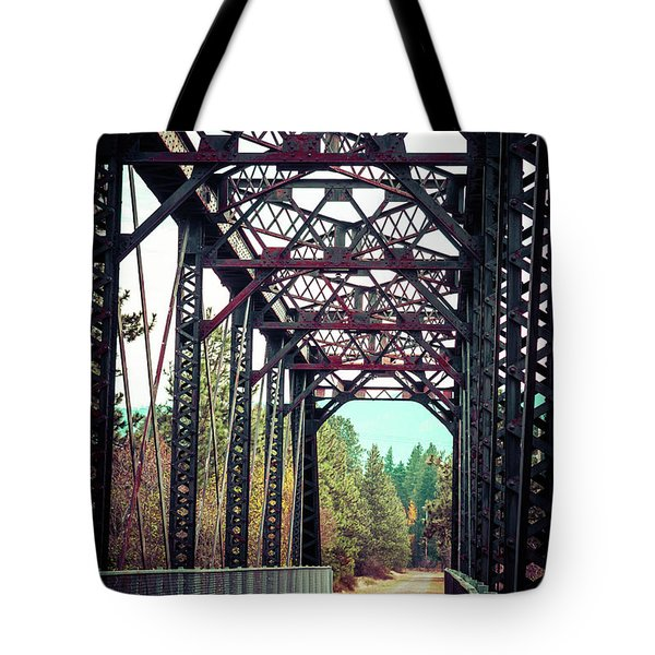 Tote Bag featuring the photograph A Lovely Path by Mary Hone