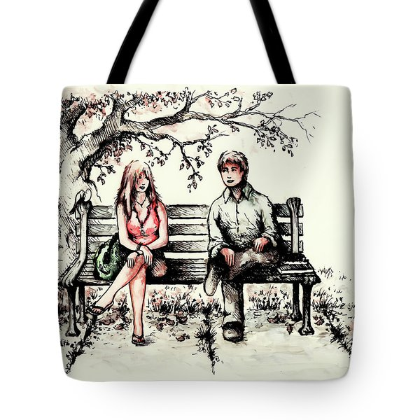 A Magical Moment Tote Bag by Rachel Christine Nowicki