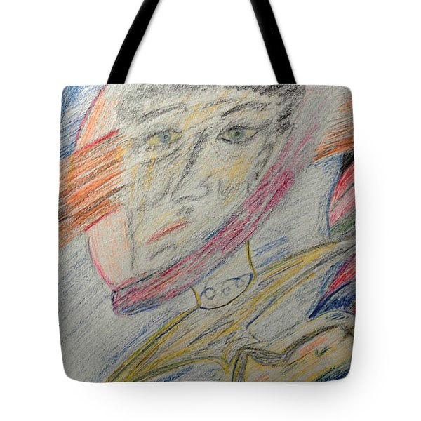 A Man And His Thoughts Tote Bag