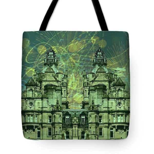 A Man's Home Is His Castle Tote Bag