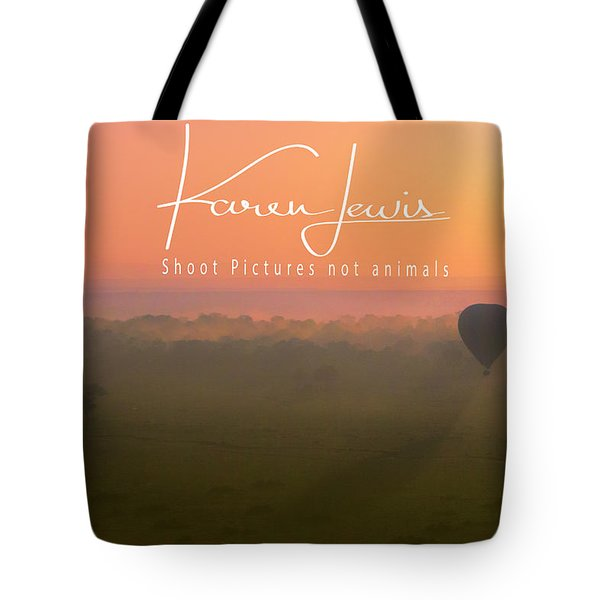 Tote Bag featuring the mixed media A Mara Morn by Karen Lewis