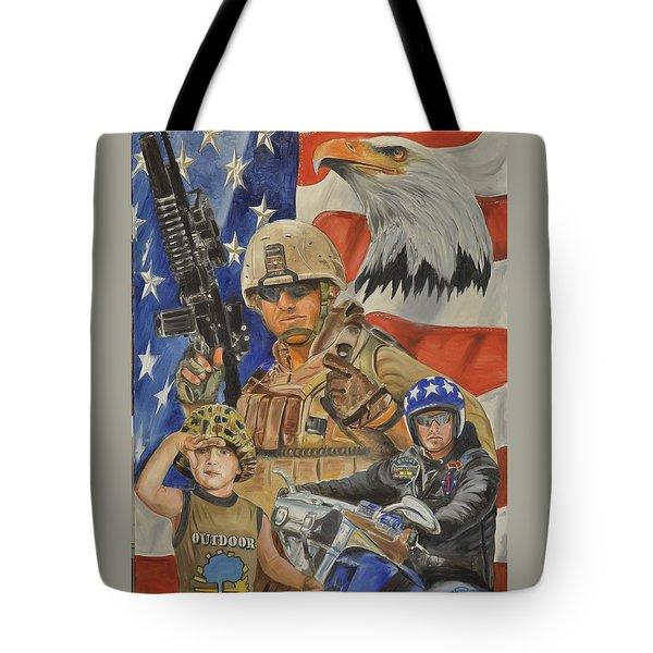 A Marine's Marine Tote Bag