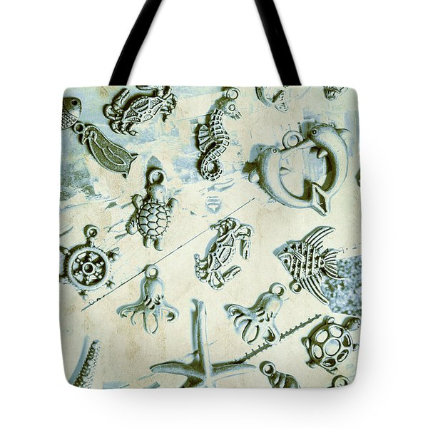 A Maritime Design Tote Bag