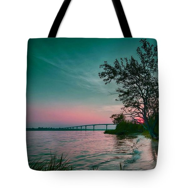 A Maryland Sunset Tote Bag
