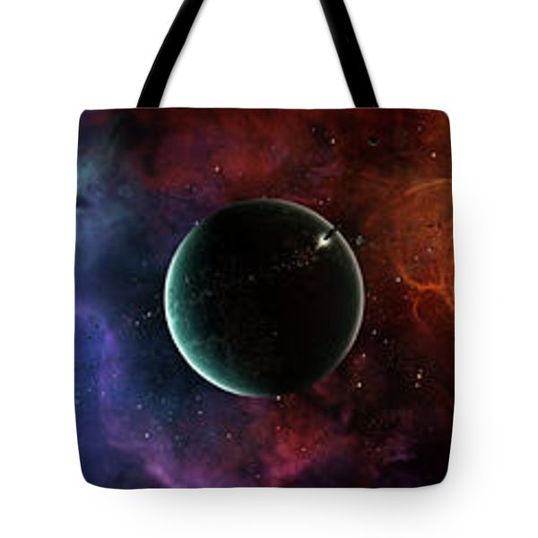 A Massive And Crowded Universe Tote Bag by Brian Christensen