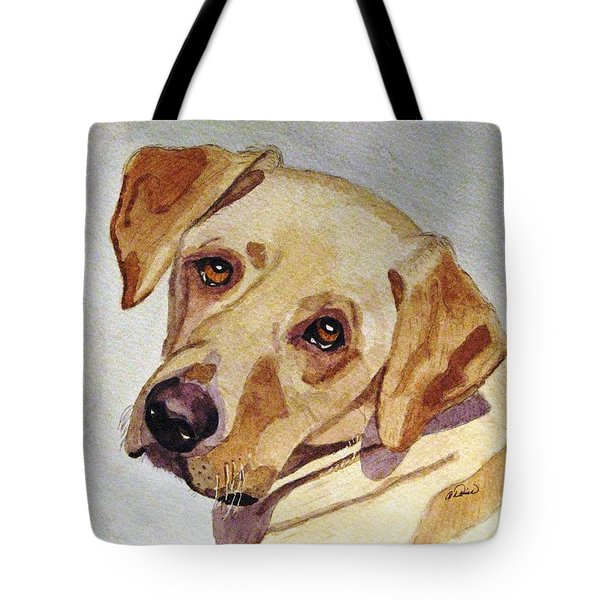 A Mellow Yellow Tote Bag by Angela Davies