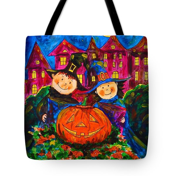 A Merry Halloween Tote Bag