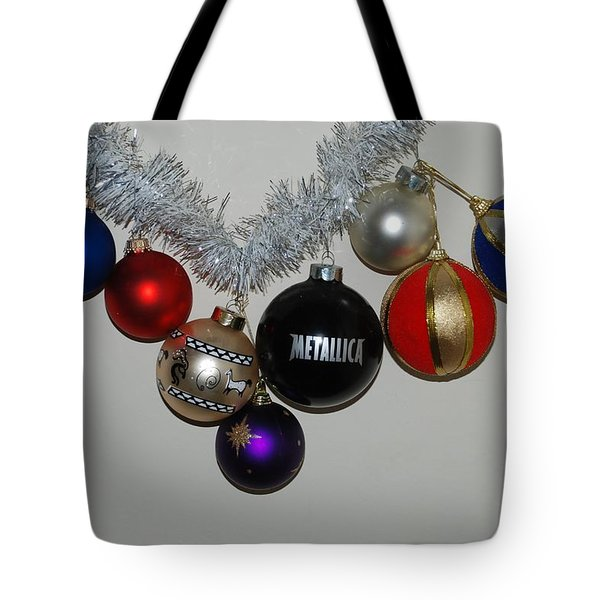 A Metallica Xmas Tote Bag