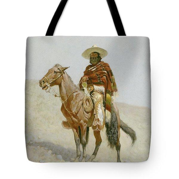 A Mexican Vaquero Tote Bag
