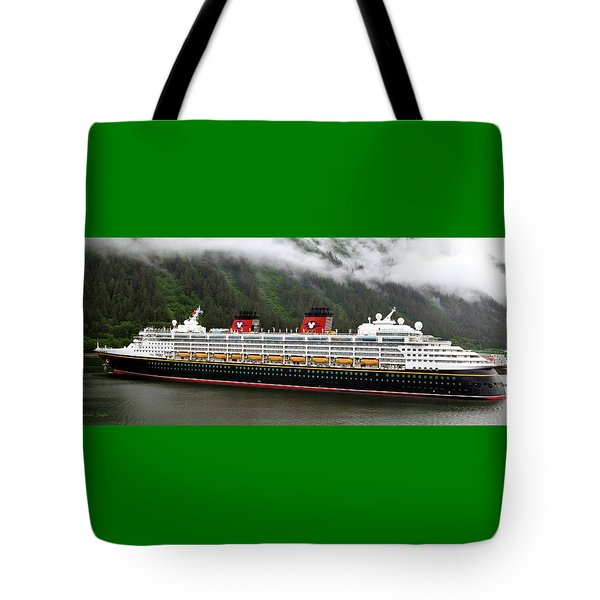 A Mickey Mouse Cruise Ship Tote Bag