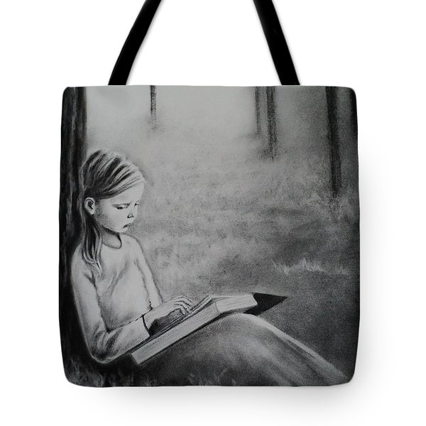 A Mid Summers Tale Tote Bag by Carla Carson