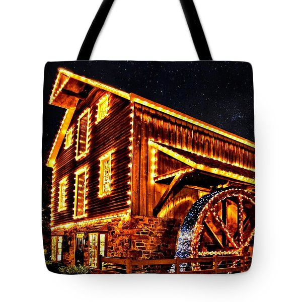 A Mill In Lights Tote Bag