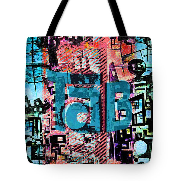 Tote Bag featuring the mixed media A Million Colors One Calorie by Tony Rubino