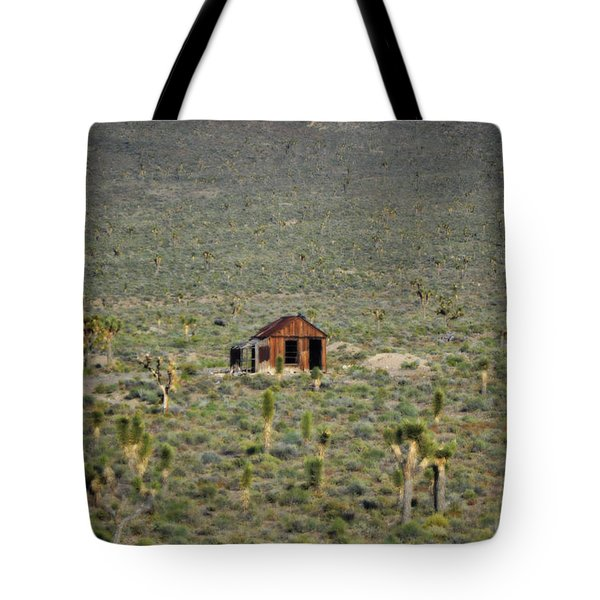 A Miner's Shack Tote Bag