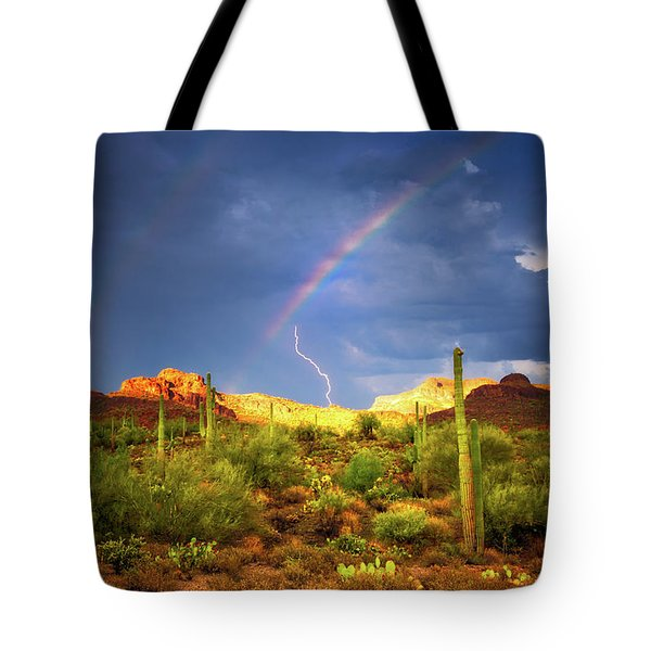 Tote Bag featuring the photograph A Miracle Of Timing by Rick Furmanek