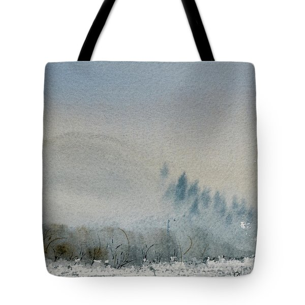 A Misty Morning Tote Bag