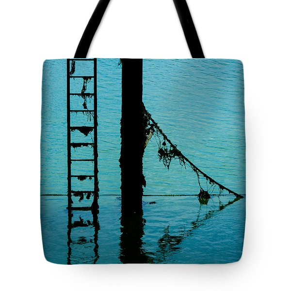 Tote Bag featuring the photograph A Modicum Of Maritime Minimalism by Chris Lord