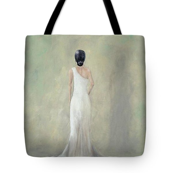 A Moment Alone Tote Bag by T Fry-Green