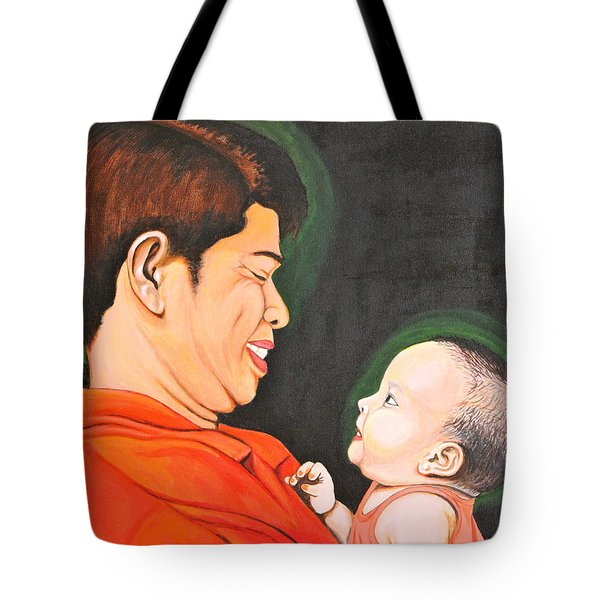 A Moment With Dad Tote Bag