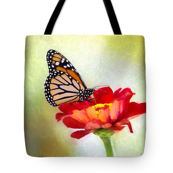 A Monarch Moment Tote Bag
