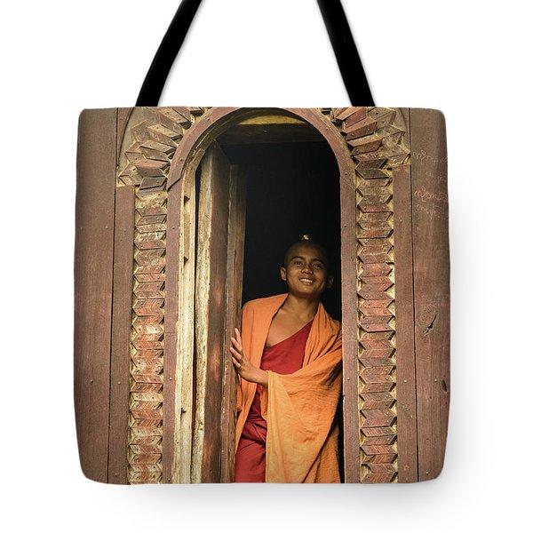 A Monk 4 Tote Bag