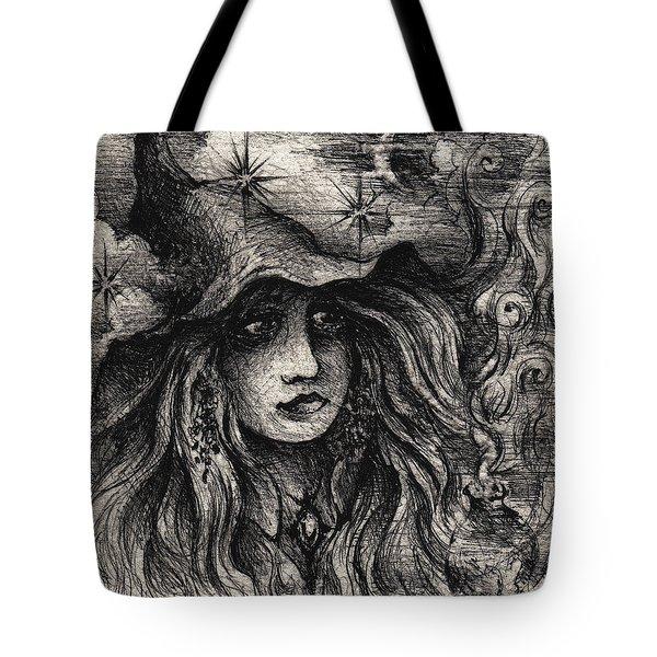 A Moonlit Spell Tote Bag