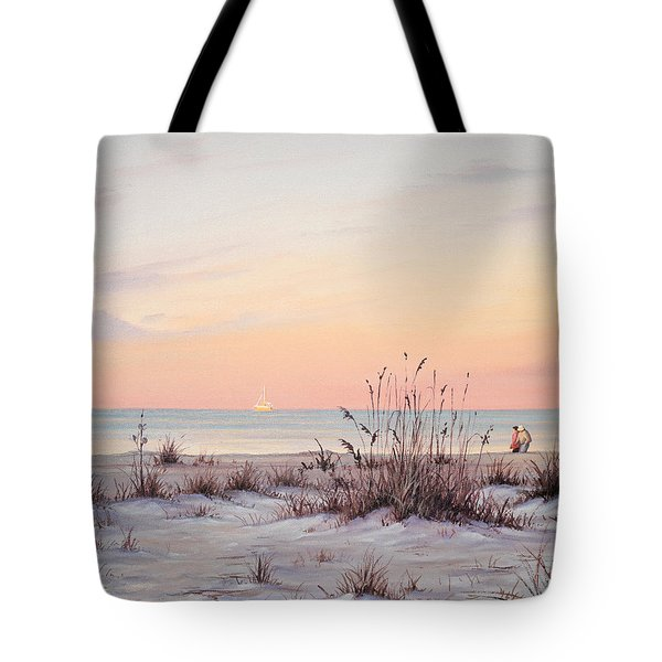 A Morning Stroll Tote Bag