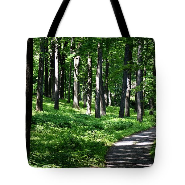 A Morning Walk Tote Bag