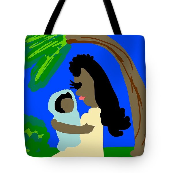 A Mother Provides Universal Love Tote Bag