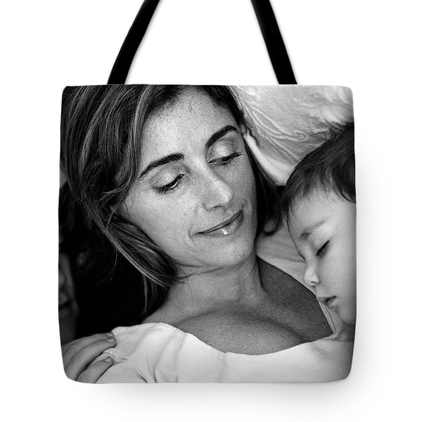 A Mother's Love Tote Bag by Kathy Yates